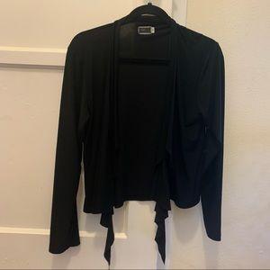Sympli black cardigan
